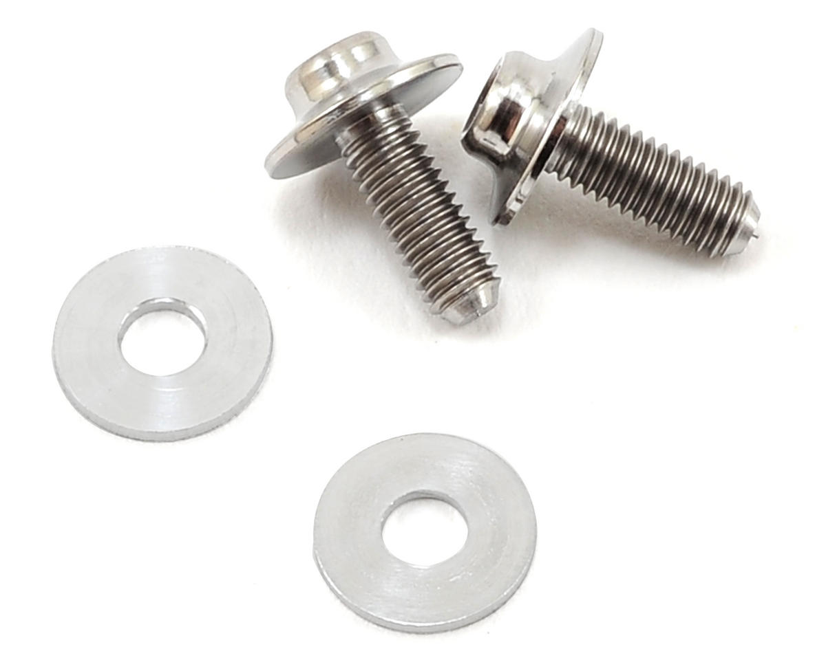 Lunsford 3x8mm Titanium Brushless Motor Screws (2)