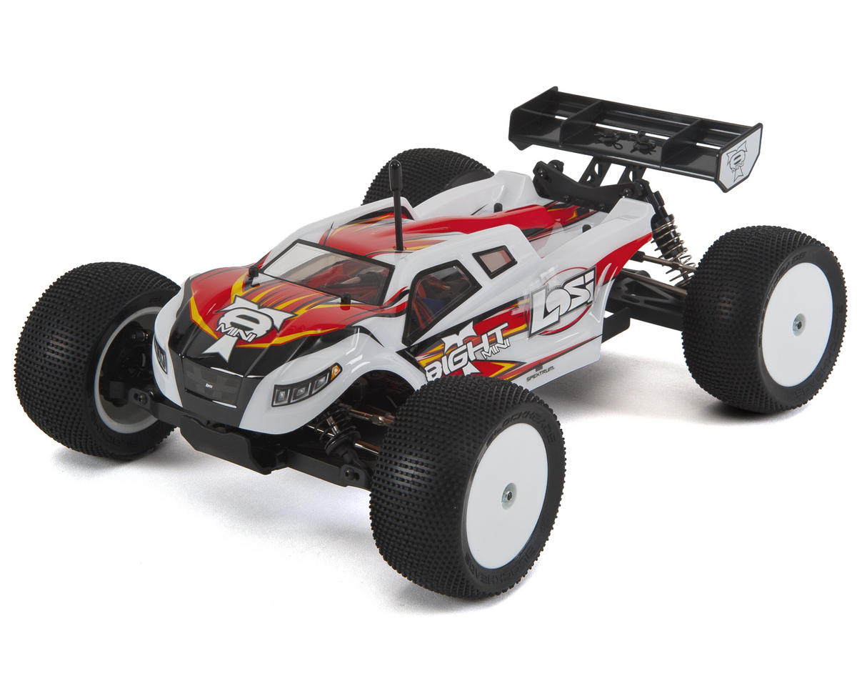 Losi Mini 8IGHT-T 1/14 Scale 4WD Electric Brushless Truggy RTR [LOS01000] |  Cars & Trucks