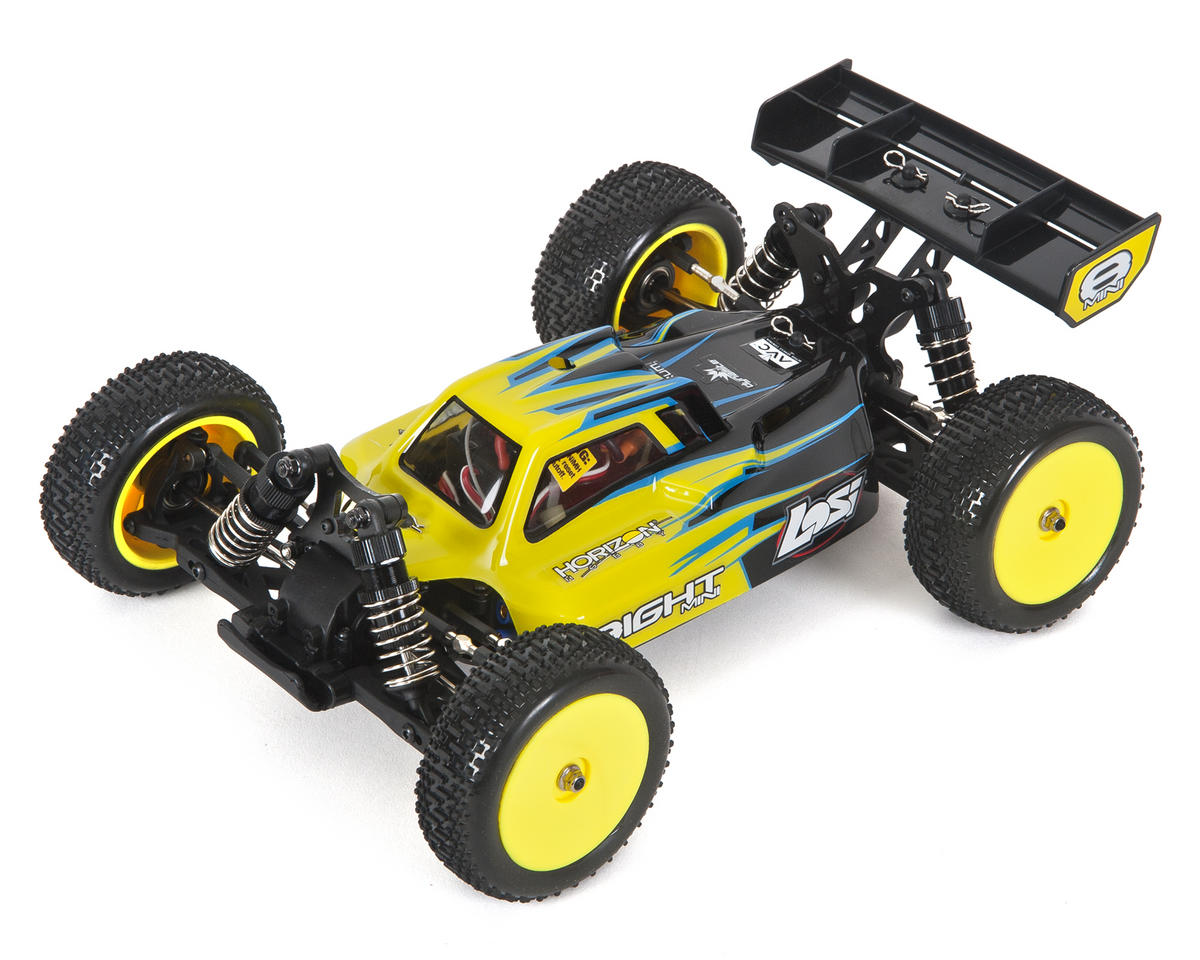 Mini 8IGHT 1/14 Scale 4WD Brushless Electric Buggy RTR by Losi