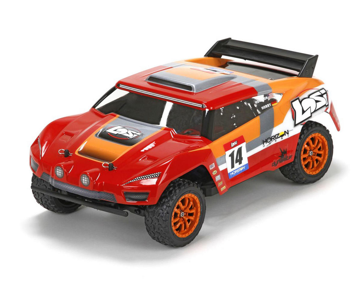 Mini Desert Truck 1/14 Scale 4WD Electric Brushless Truck RTR by Losi