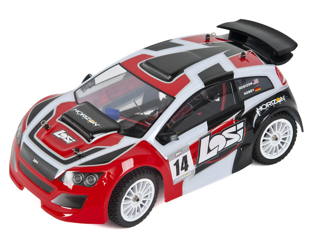Mini Rally 1/14 RTR 4WD Brushless Electric Rally Car by Losi