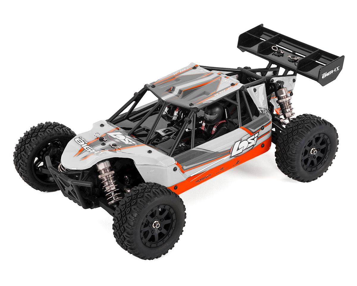 Mini 8IGHT-DB 1/14 RTR 4WD Brushless Electric Buggy (White) by Losi
