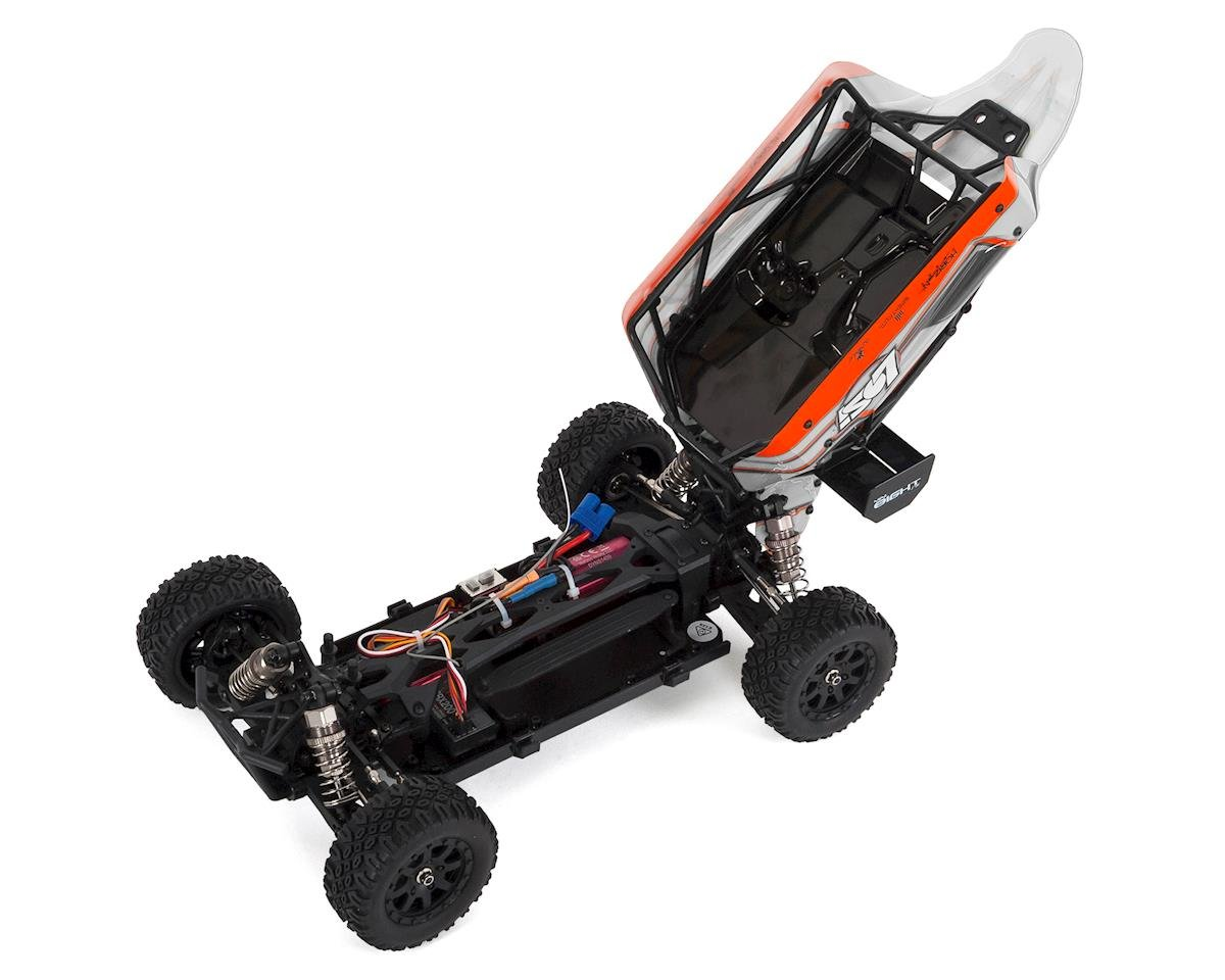 Losi Mini 8IGHT-DB 1/14 RTR 4WD Brushless Electric Buggy (White)