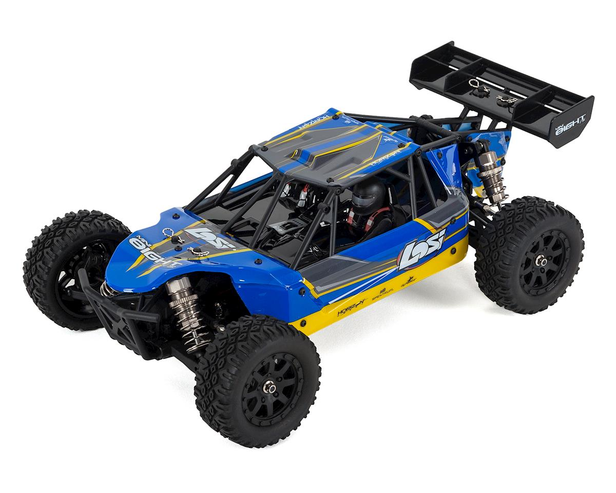 Losi Mini 8IGHT-DB 1/14 RTR 4WD Brushless Electric Buggy (Blue)
