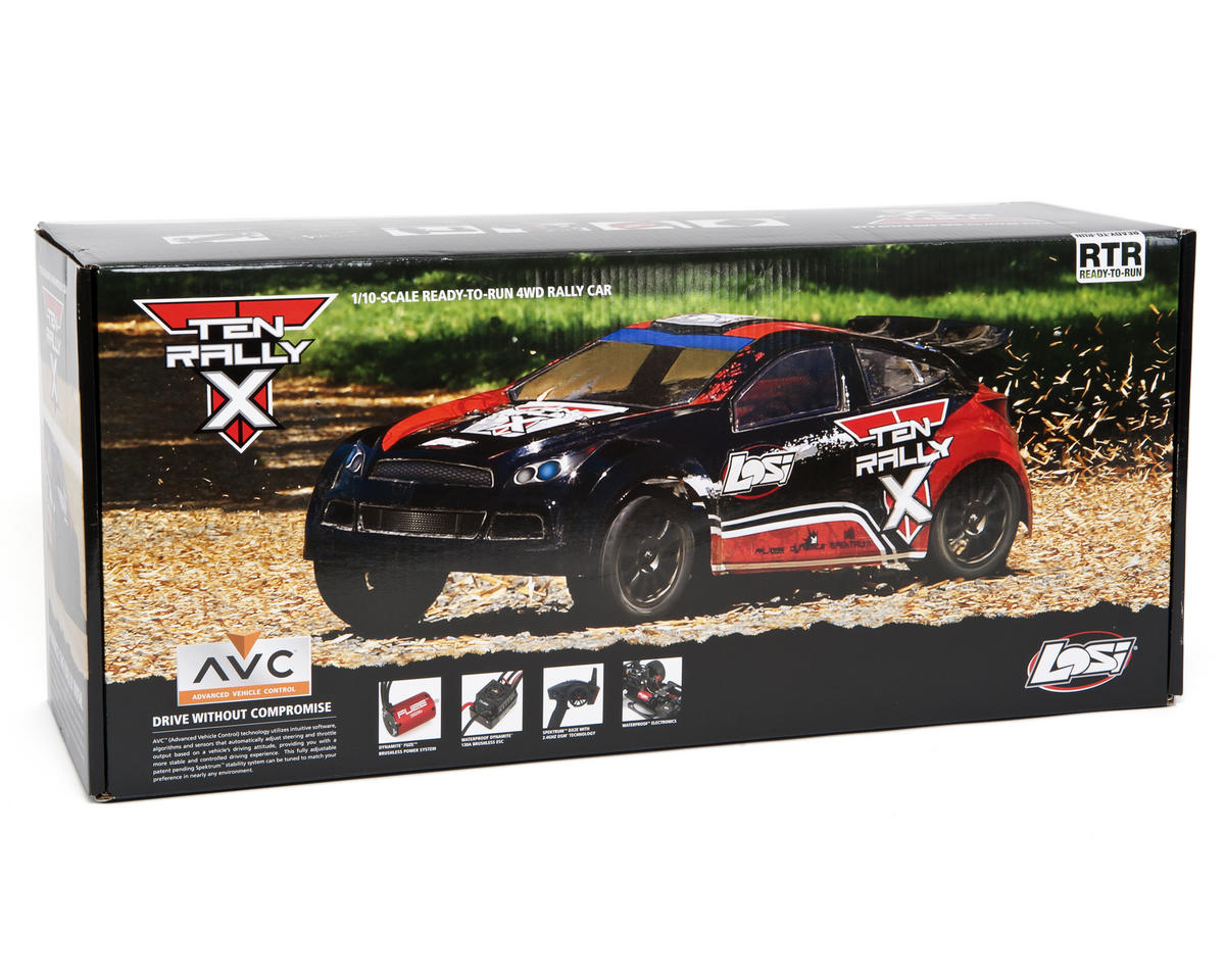 Losi TEN Rally-X 1/10 RTR 4WD Rally Car