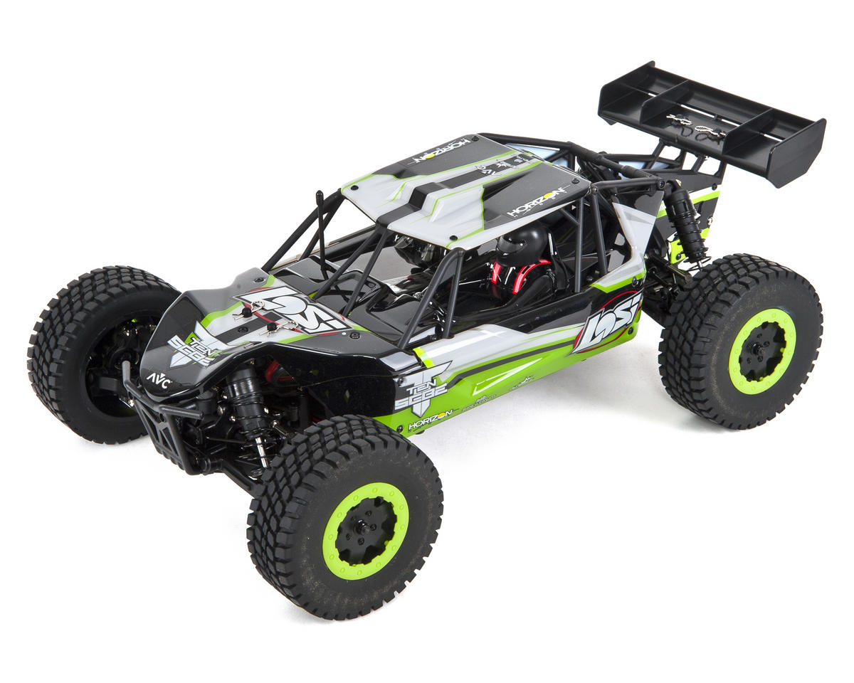 Losi TEN-SCBE 1/10 RTR 4WD Buggy (Green) w/DX2E Radio & AVC