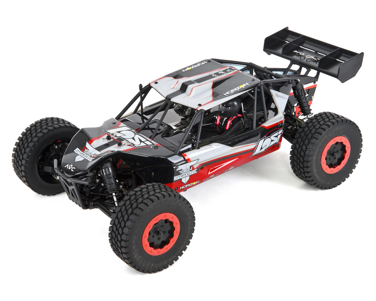 TEN-SCBE 1/10 RTR 4WD Buggy (Orange) w/DX2E Radio & AVC by Losi