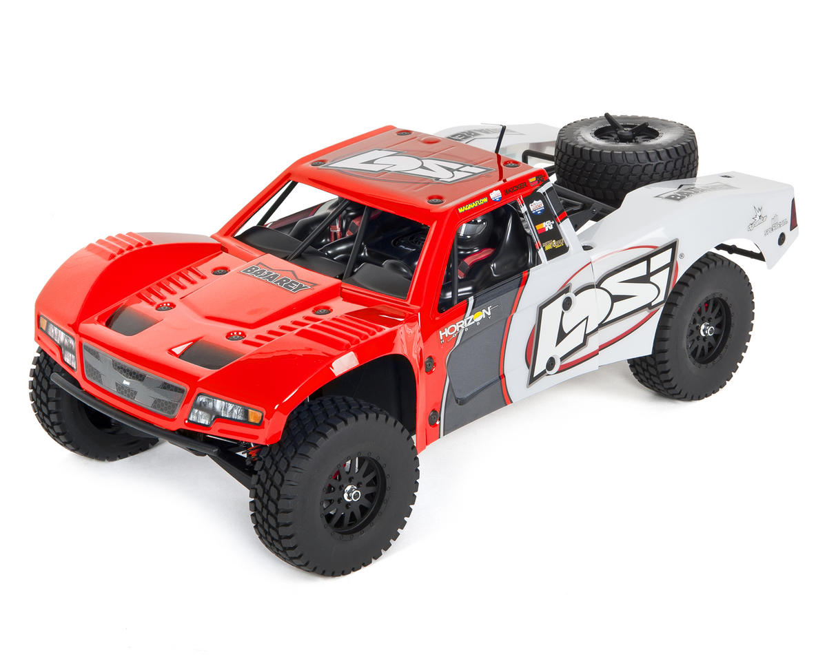 Baja Rey 1/10 RTR Trophy Truck (Red)