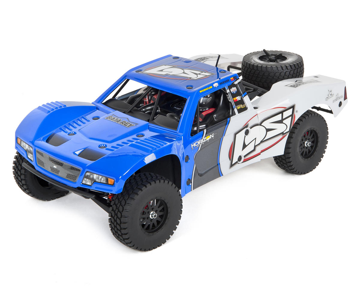 Baja Rey 1/10 RTR Trophy Truck (Blue) by Losi