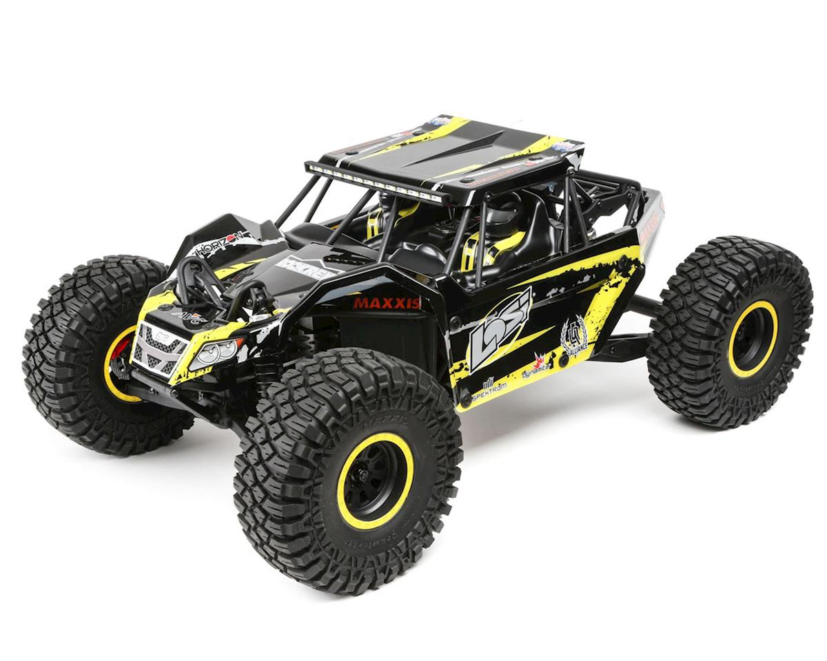 Losi Rock Rey 1/10 4WD RTR Electric Rock Racer (Yellow)