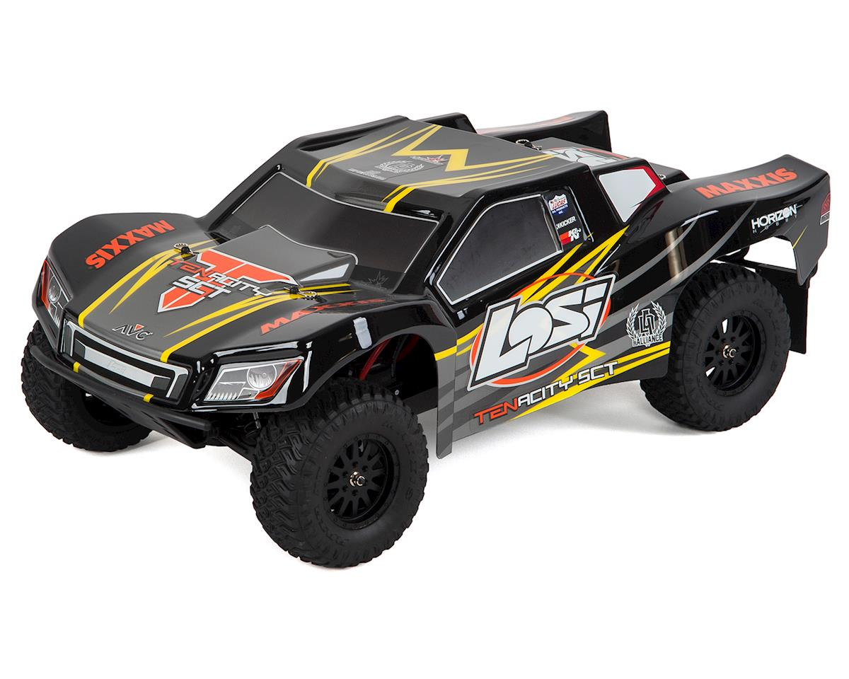 Tenacity SCT RTR 1/10 4WD Short Course Truck (Black/Yellow) by Losi