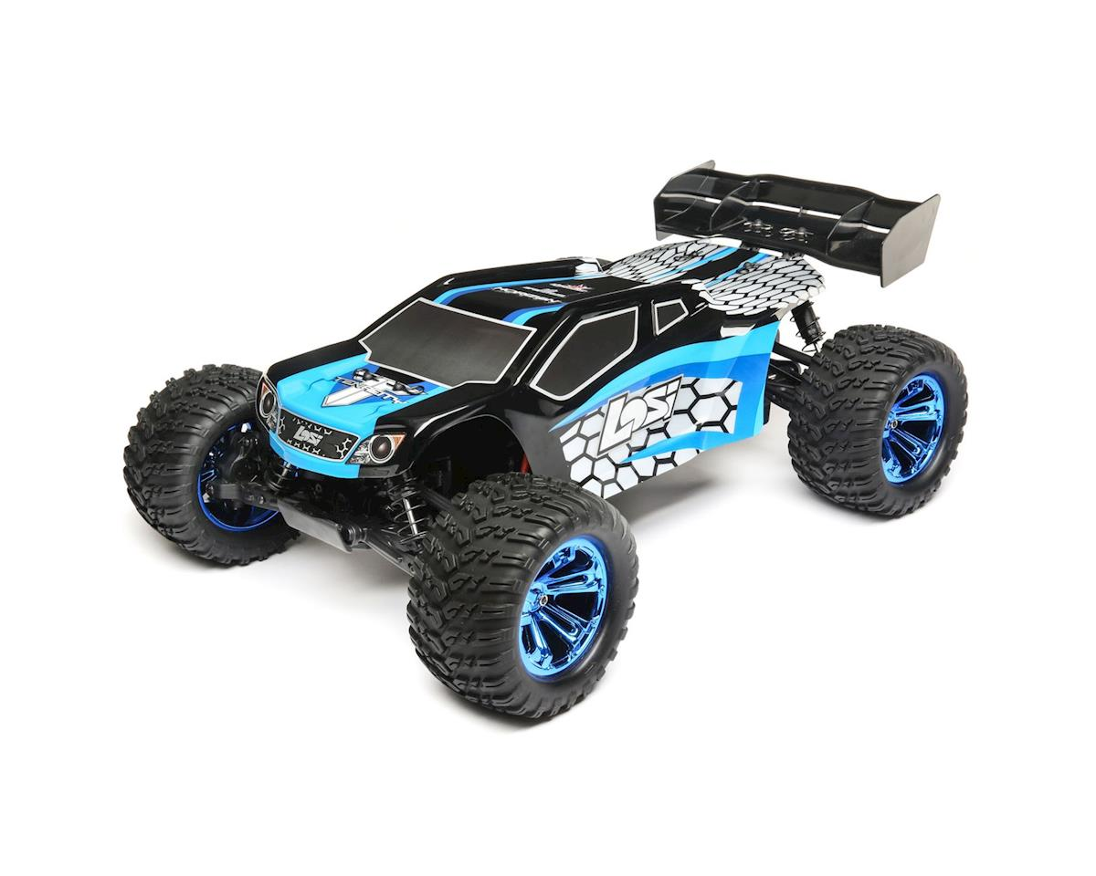 Losi TENACITY 1/10 RTR 4WD Brushless Truggy (Blue/Black)