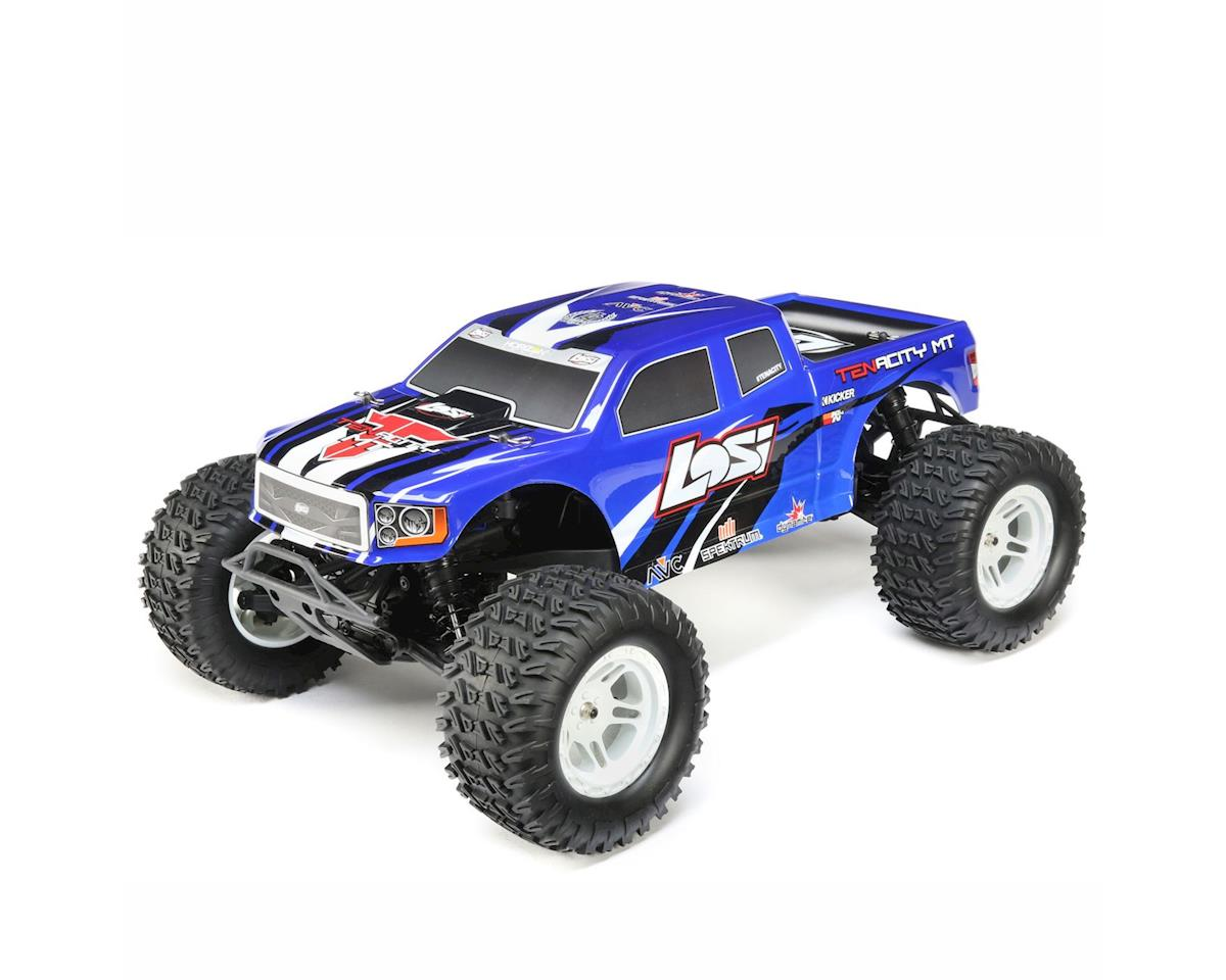 TENACITY 1/10 RTR 4WD Brushless Monster Truck (Blue) by Losi