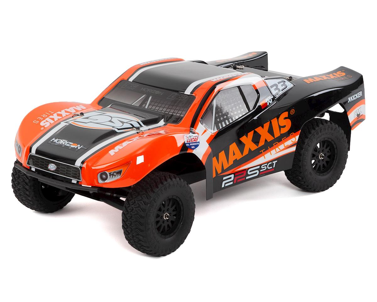 22S 1/10 RTR 2WD Brushless Short Course Truck (Maxxis) by Losi