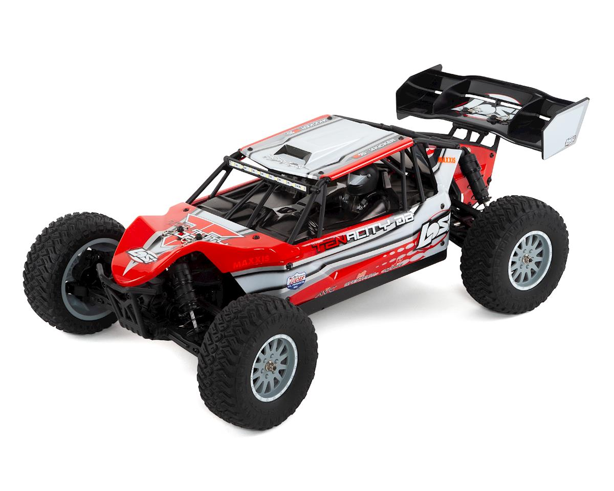 Losi TENACITY DB 1/10 RTR 4WD Brushless Desert Buggy (Red/Grey)