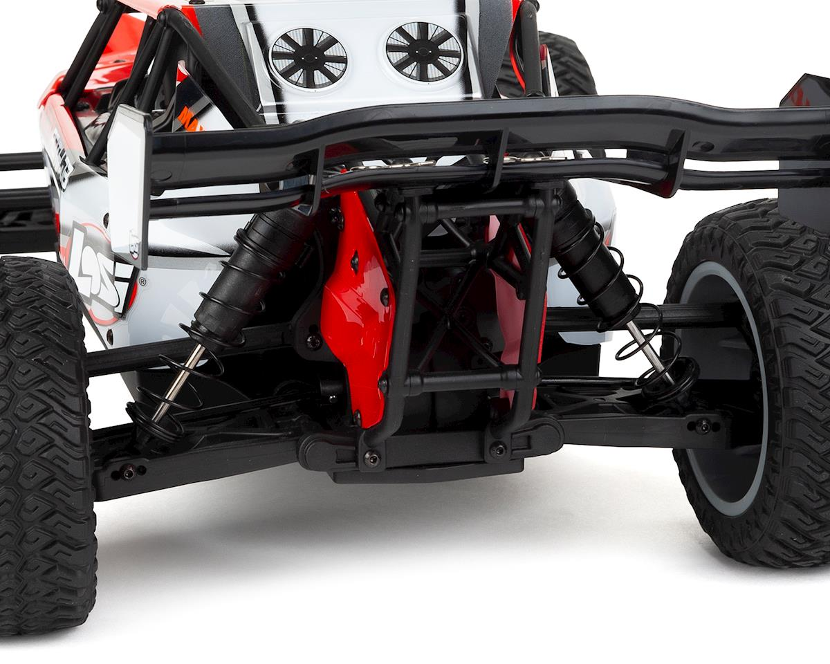 Losi TENACITY DB 1/10 RTR 4WD Brushless Desert Buggy (Red/Grey)