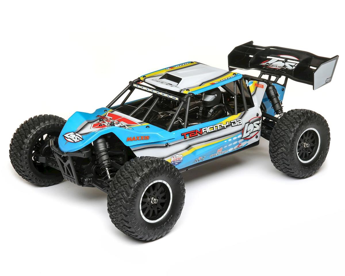 Losi TENACITY DB 1/10 RTR 4WD Brushless Desert Buggy (Blue/Yellow)