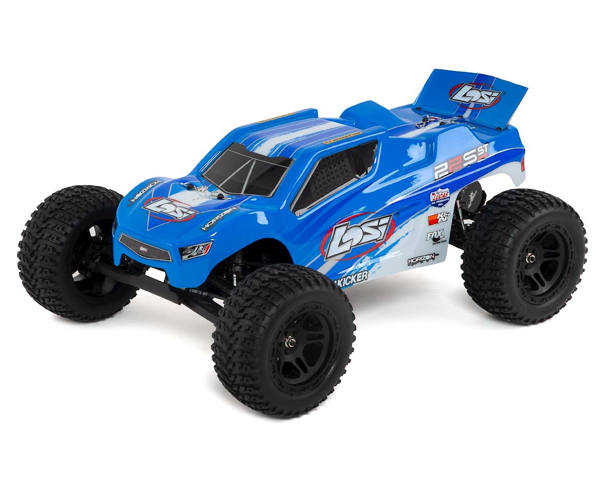 Losi 22S ST RTR 1/10 2WD Brushless Stadium Truck (Blue/Silver)