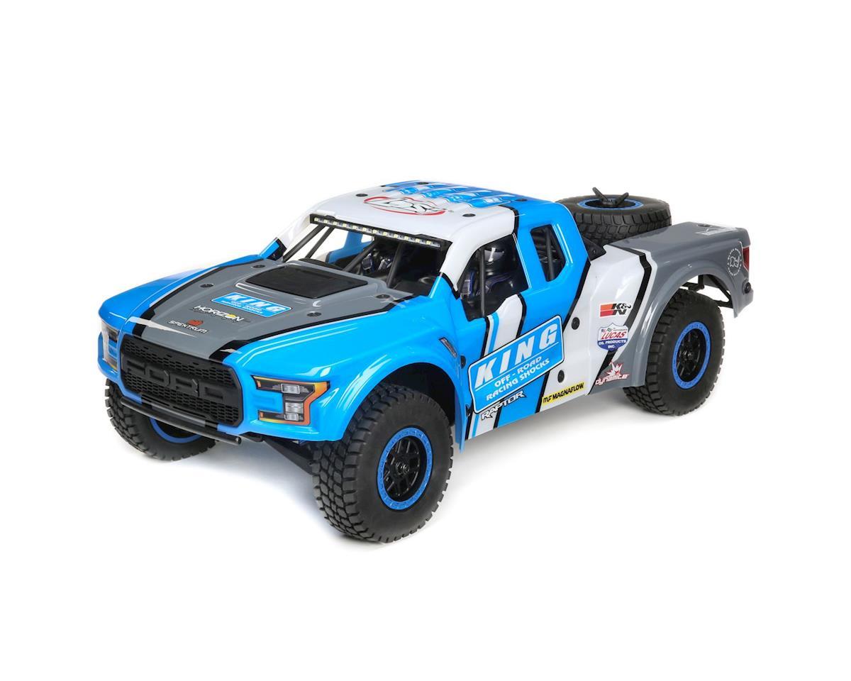 Losi Baja Rey Ford Raptor 1/10 RTR 4WD Brushless Desert Truck (King Shocks)  w/2 4GHz Radio & AVC