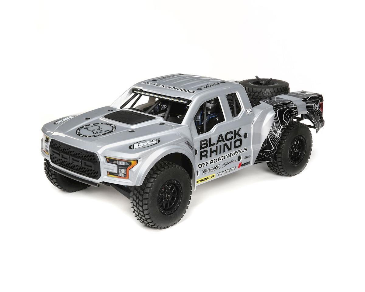 Losi Baja Rey Ford Raptor 1/10 RTR 4WD Brushless Desert Truck (Black Rhino) | relatedproducts
