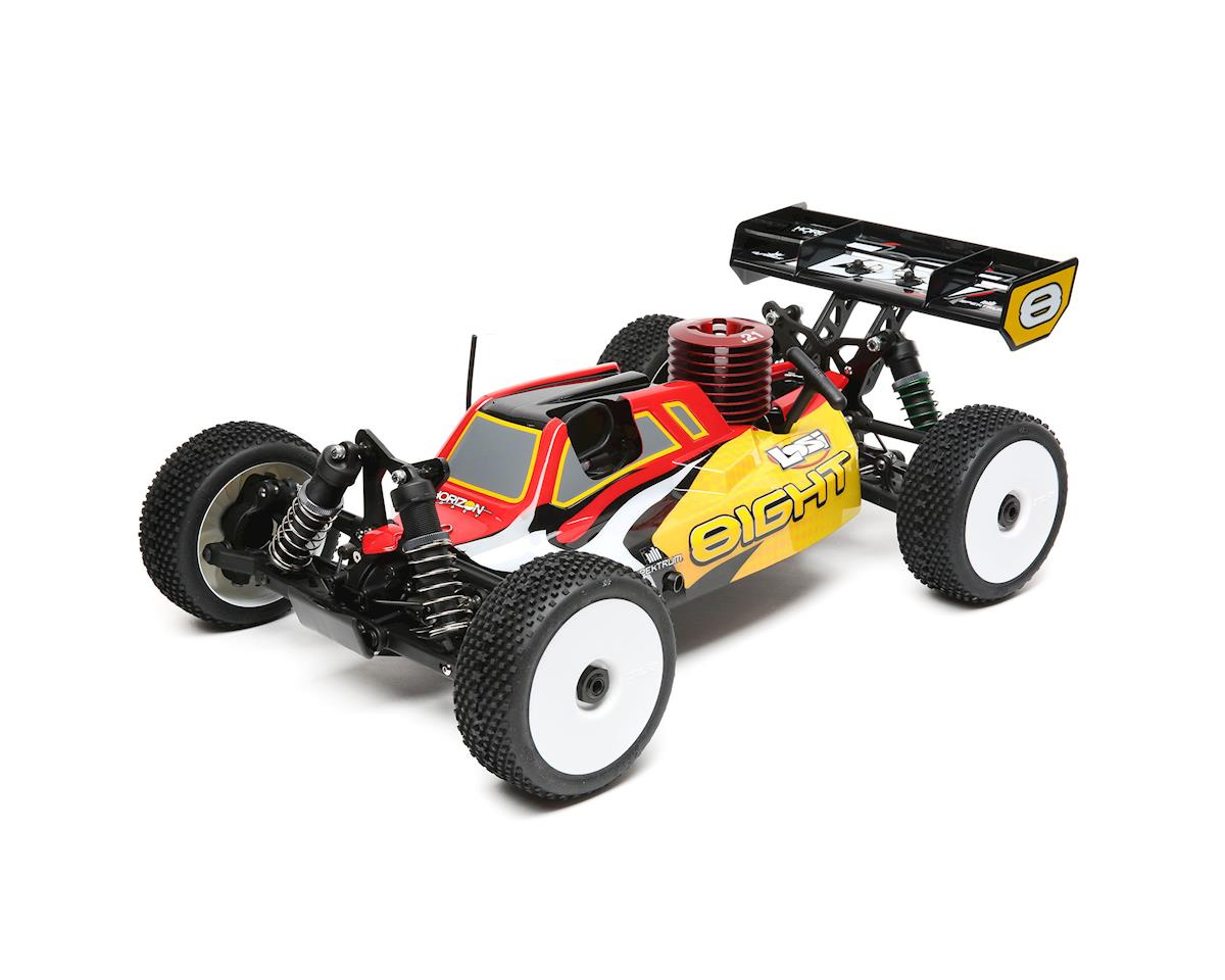 Losi 8IGHT Nitro 1/8 4WD RTR Buggy w/DX2E Radio | relatedproducts