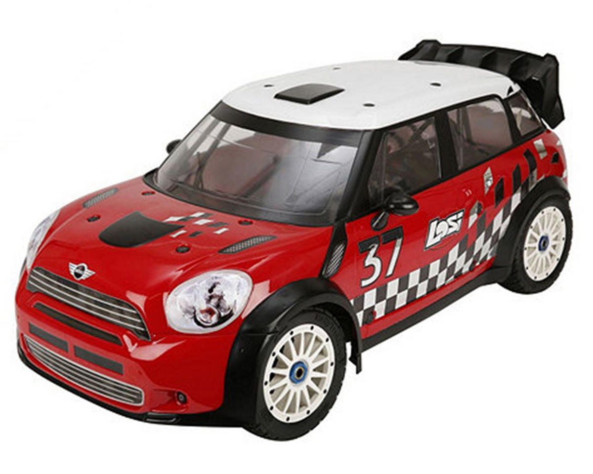 Losi 5IVE MINI WRC 1/5 RTR 4WD Rally Car w/DX2E 2.4GHz Radio & 29cc Gasoline Engine