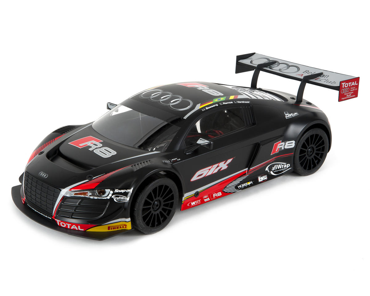 Losi 6IX Audi R8 LMS Ultra FIA-GT3 1/6 4WD RTR Brushless On-Road Kit