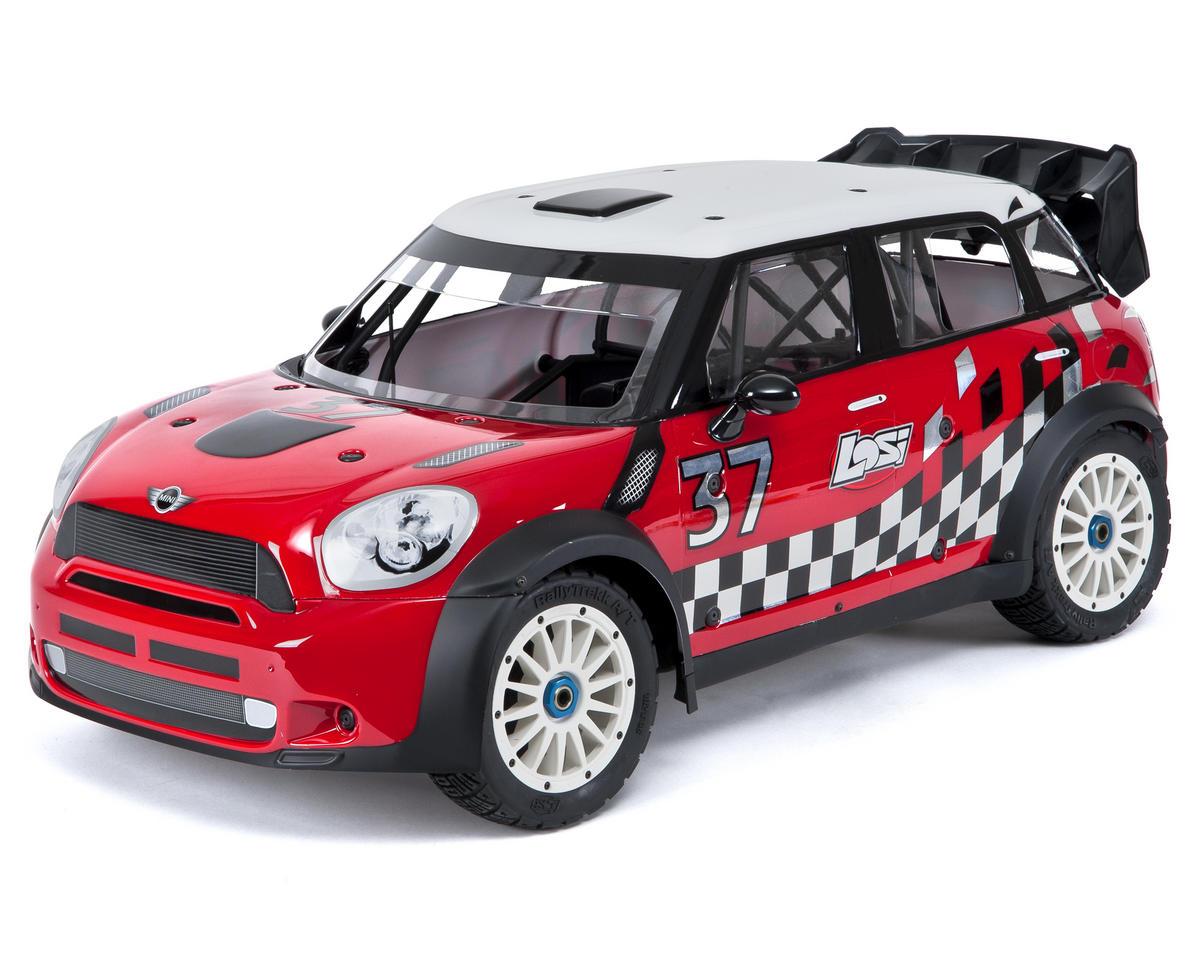 Losi 5IVE MINI WRC 1/5 RTR 4WD Rally Car w/DX2E 2.4GHz Radio, AVC ...