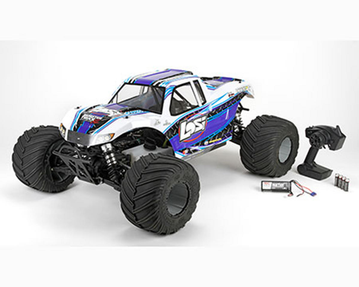 Monster Truck XL 1/5 Scale RTR Gas Truck (White) by Losi
