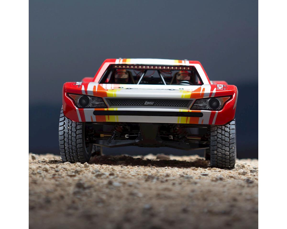 Losi Super Baja Rey SBR 1/6 RTR Electric Trophy Truck (Red)