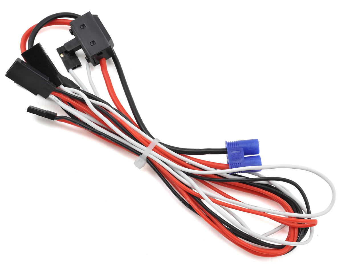 On/Off Switch & Wiring Harness by Losi