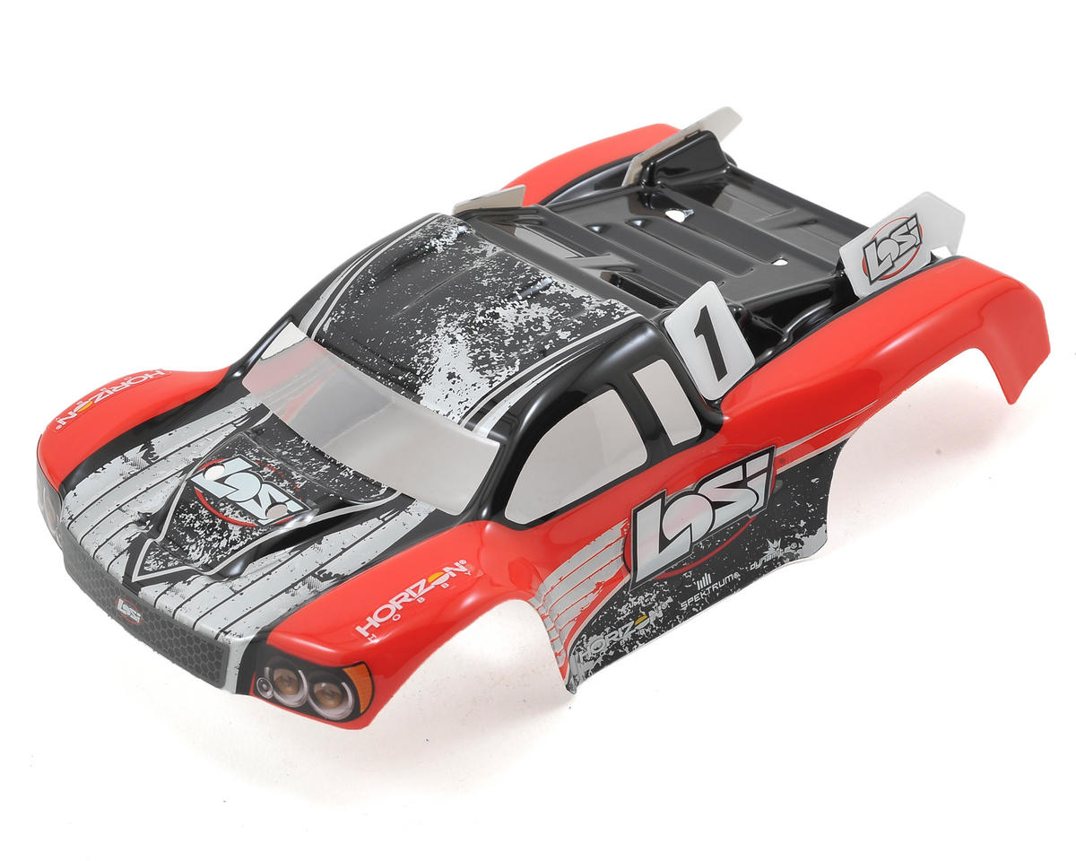 Losi 1/24 Micro SCTE Painted Body (Red)