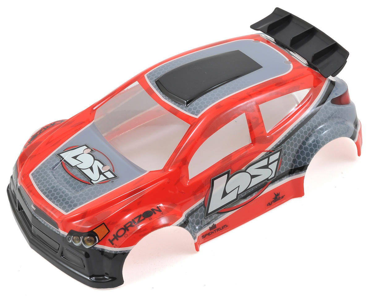 Losi 1/24 4WD Micro Rally X Painted Body (Red)