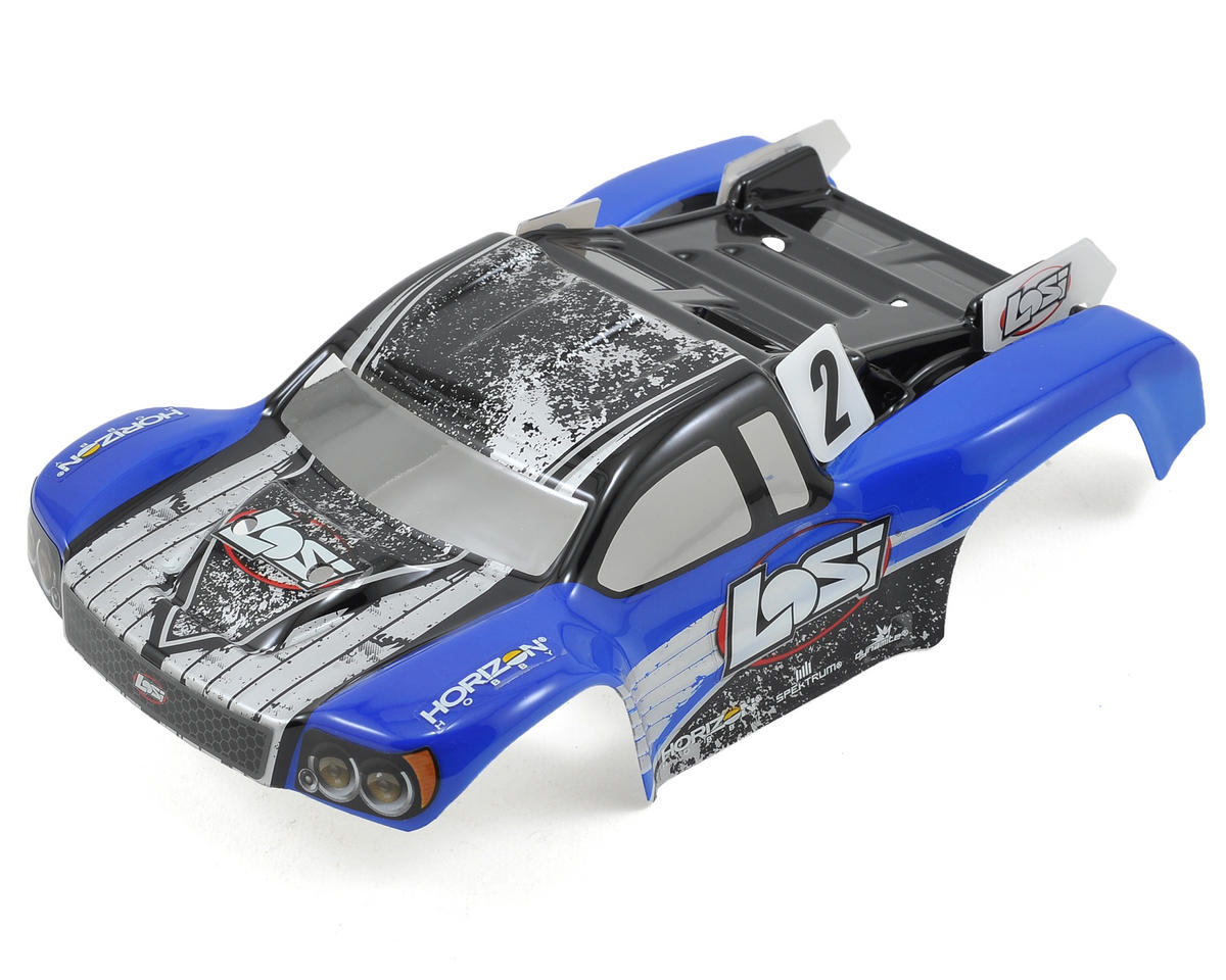 Losi 1/24 Micro SCTE Painted Body (Blue)