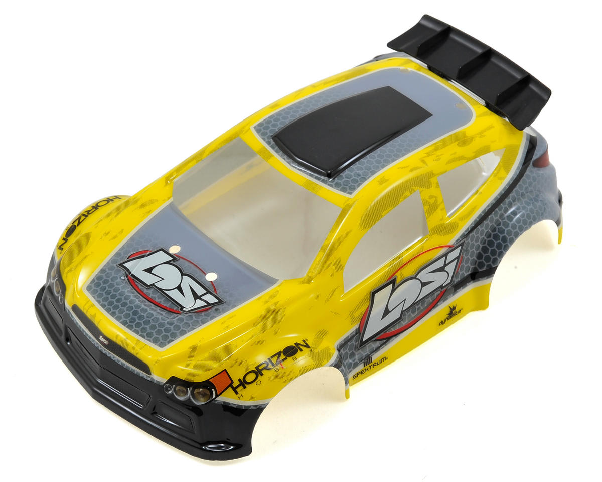 Losi 1/24 4WD Micro Rally X Painted Body (Yellow)