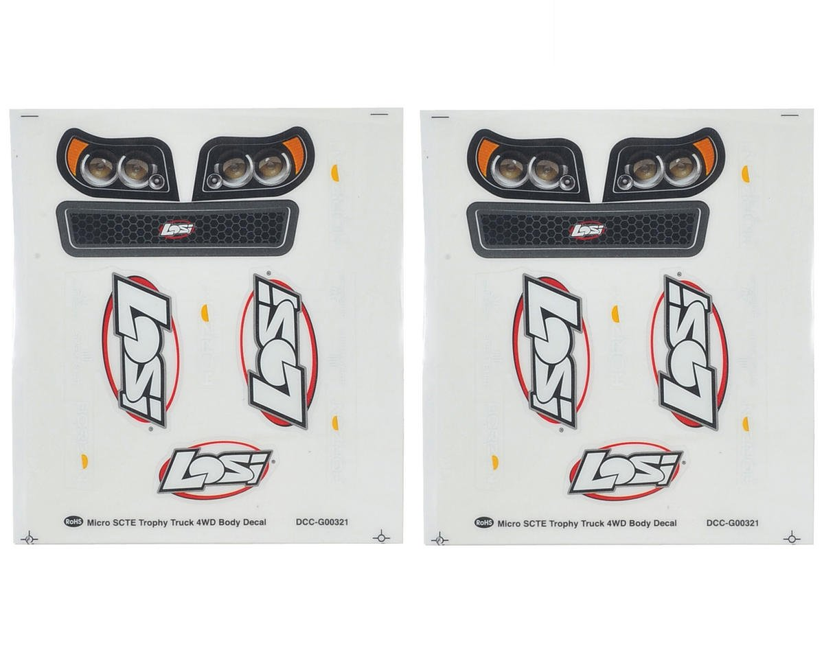 Losi Micro SCTE Sticker Set (2)