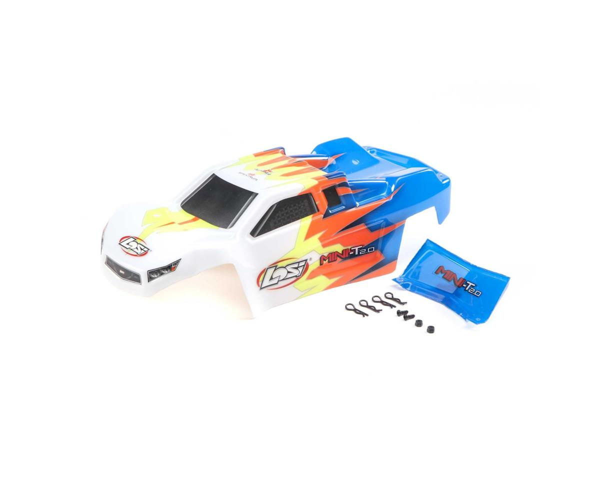 Losi Mini-T 2.0 Pre-Painted Body Set (Blue/White) | relatedproducts