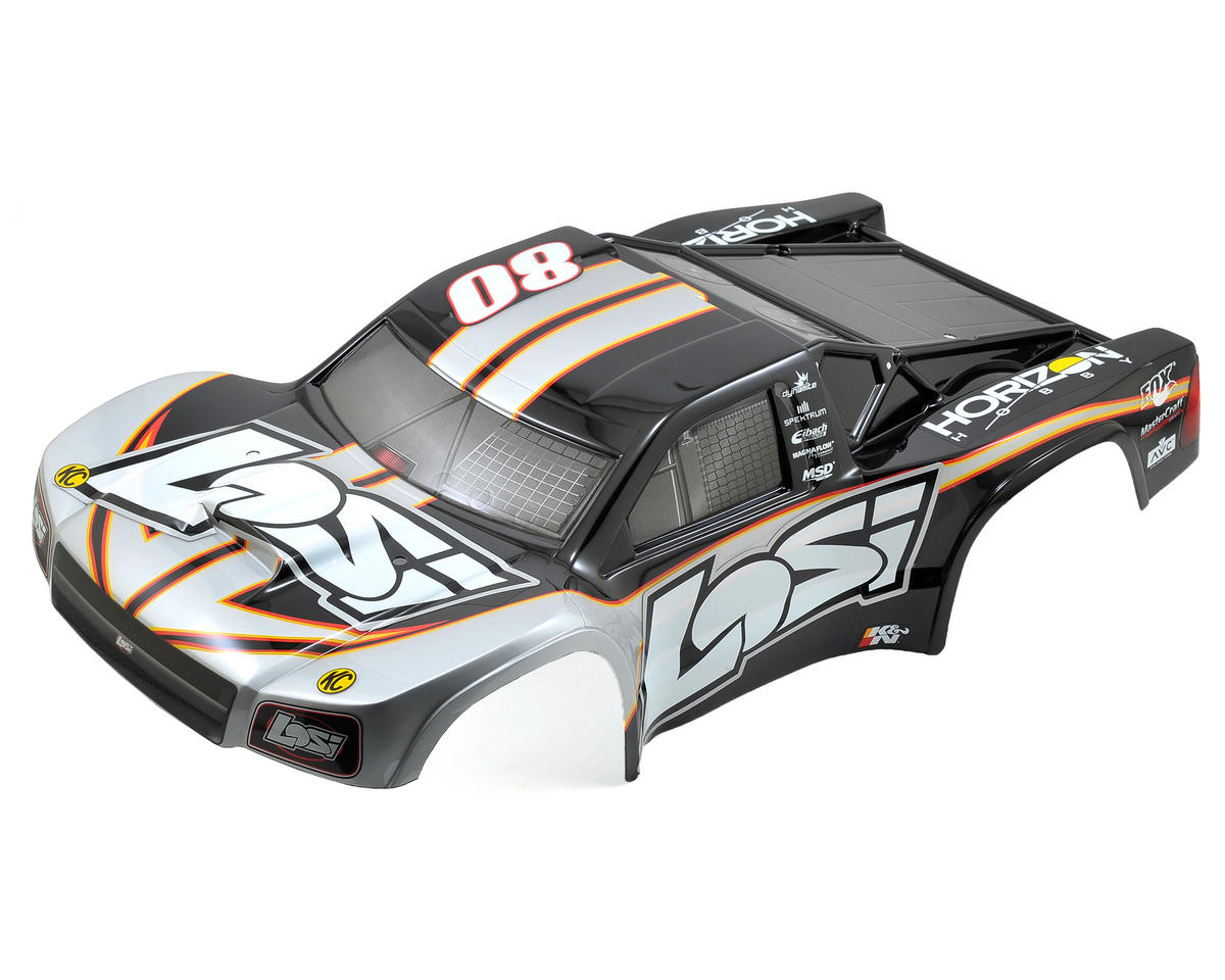 Losi TEN-SCTE 2.0 XXX-SCT Pre-Painted Body (Losi Scheme)