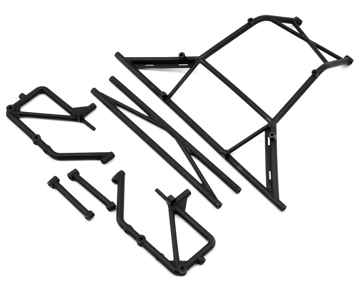 Losi Baja Rey Front Bar, Rear Body Mount, Bumper & Tower Support