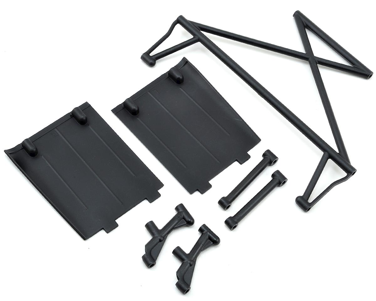 Losi Rock Rey Rear Tower & Mud Guards
