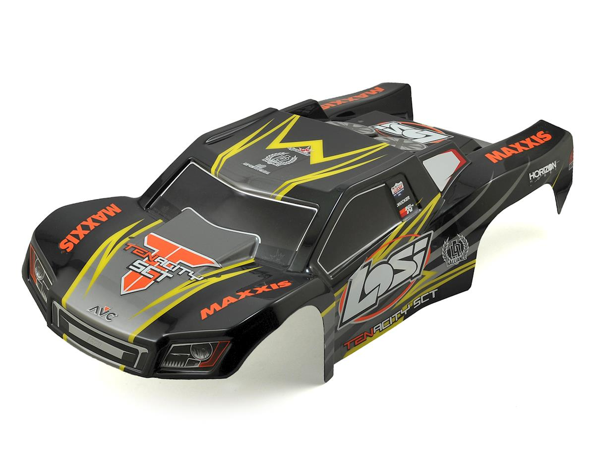 Losi Tenacity SCT Pre-Painted Body Set (Black/Yellow)