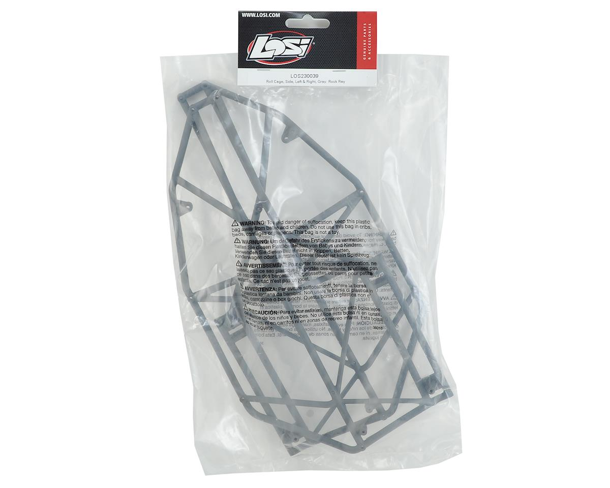 Losi Rock Rey Roll Cage Sides (Gray)