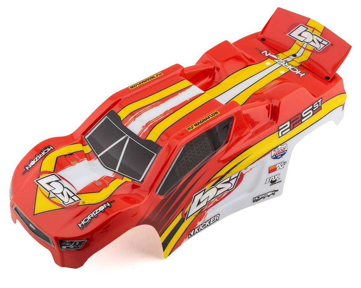 Losi 22S ST Pre-Painted Body (Red/Yellow)