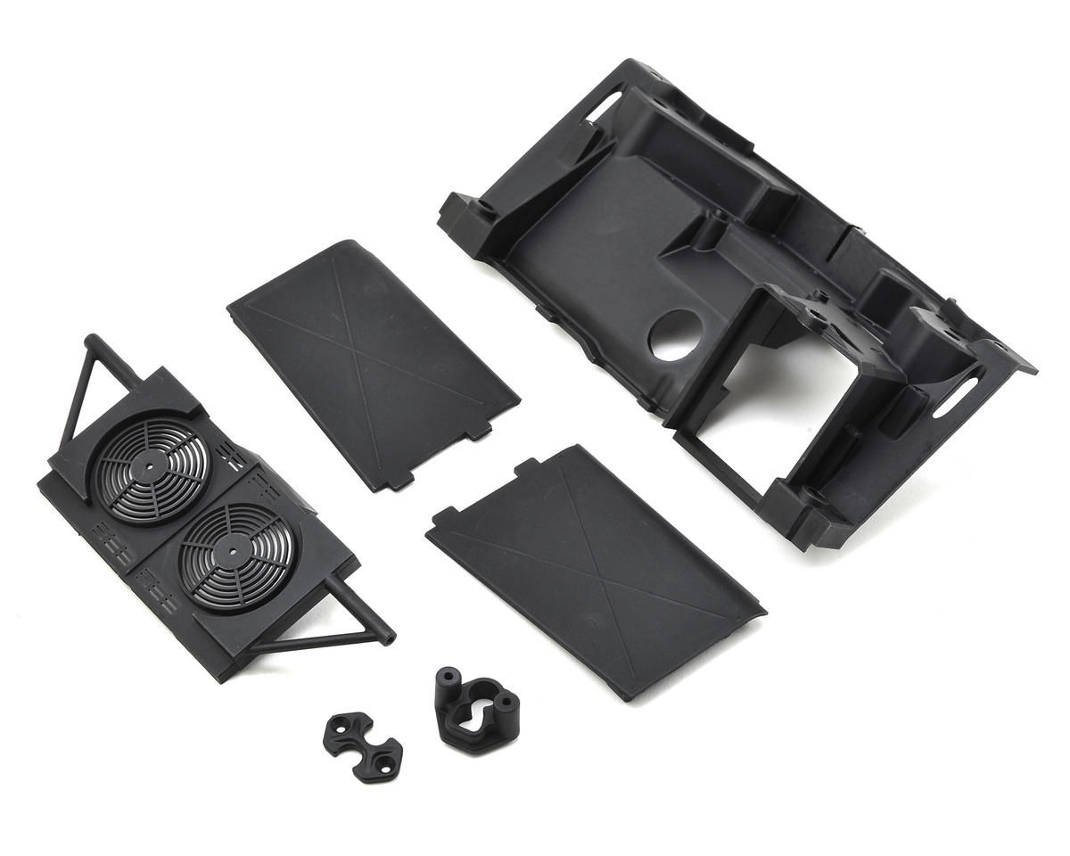 Losi Baja Rey Rear Bulkhead & Mudguards | relatedproducts