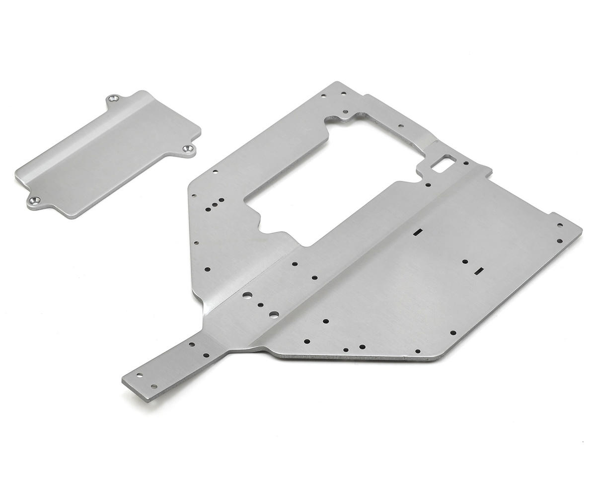 Losi Baja Rey Chassis Plate & Motor Cover Plate