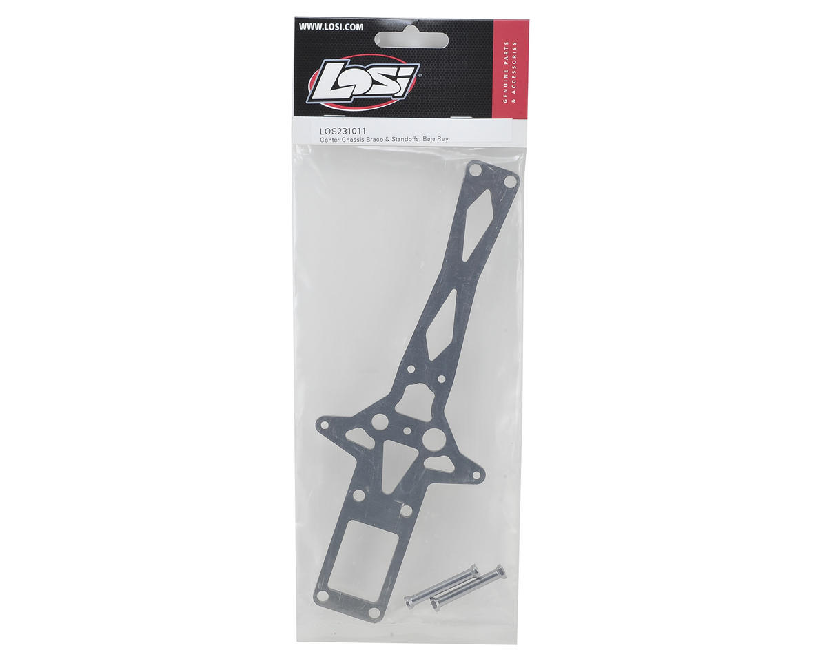 Losi Baja Rey Center Chassis Brace & Standoffs