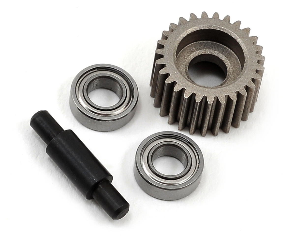 Losi XXX-SCB Metal Idler Gear, Shaft & Bearing Set