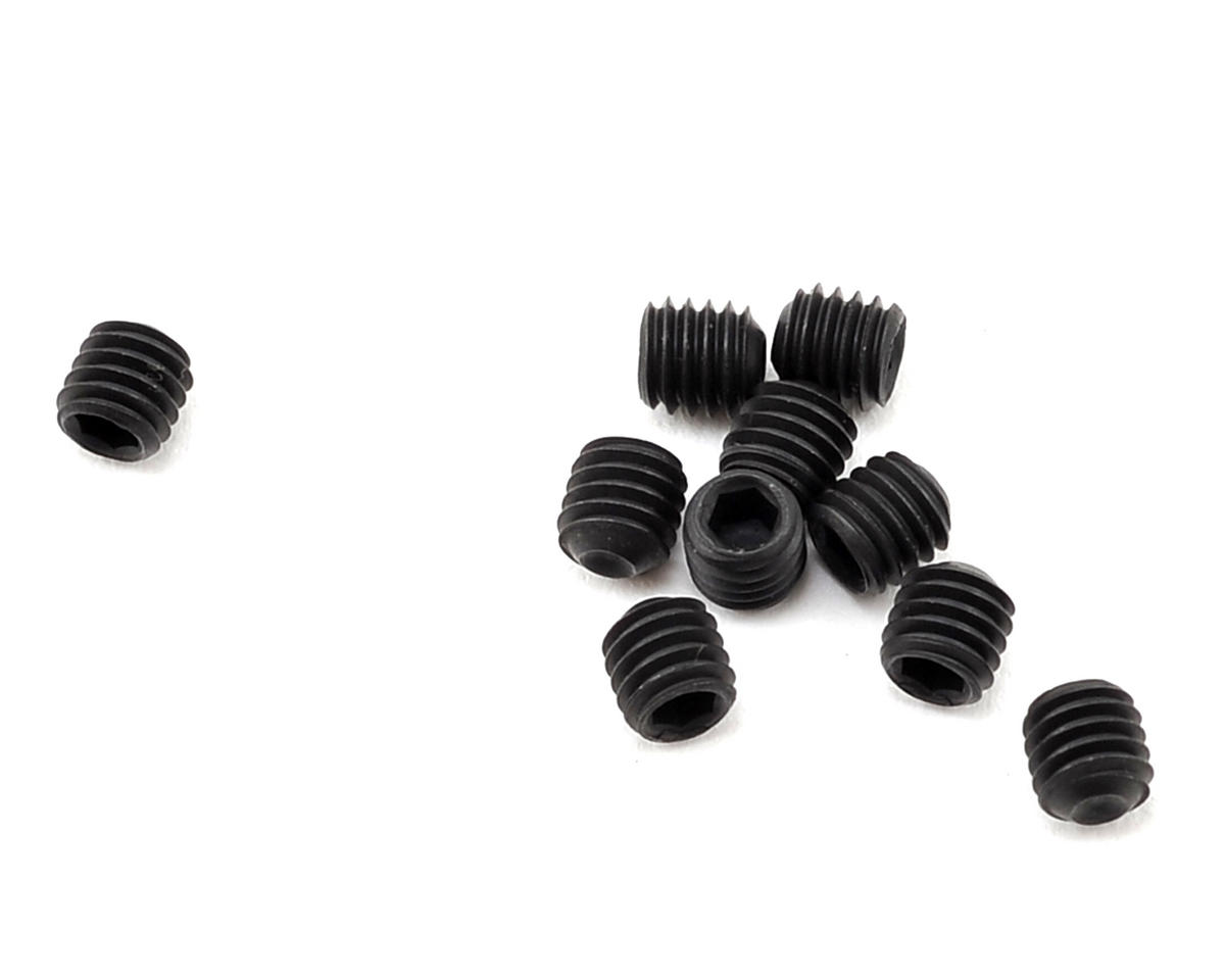 Losi 3x3mm Cup Point Set Screws (10)