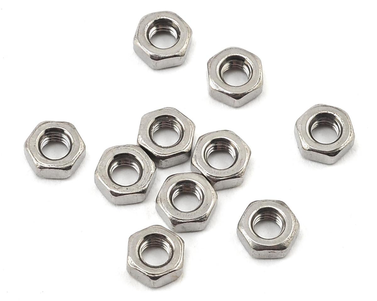 Losi 3x0.5x5mm Flat Nut (10)