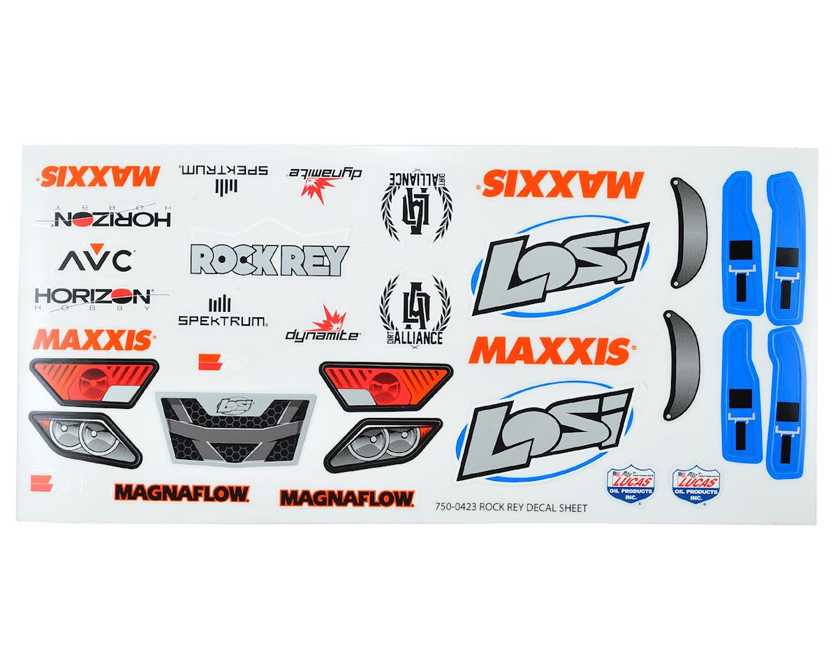 Rock Rey Decal Sheet (Blue) by Losi